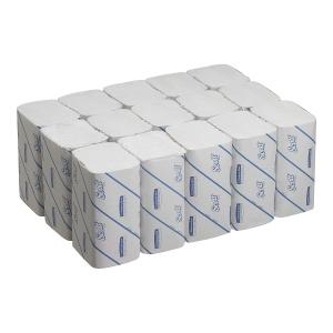 Pack de 15 paquetes de toallas secamanos Scott - 212 hojas - W - 1 capa