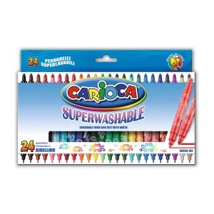 Pack de 24 rotuladores CARIOCA Birellino colores surtidos