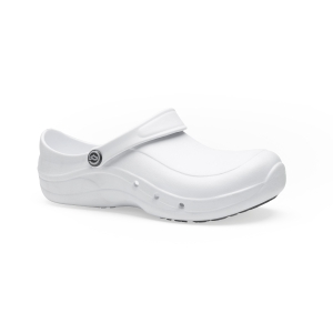 Zuecos seguridad TOFFELN Eziprotekta de EVA con puntera. Color Blanco. Talla 38
