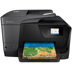 Fax multifunción tinta OFFICE JET PRO 8710 HP. Formatos: A4,A5,A6,B5