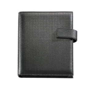 ORGANIZADOR INTEGRAL PLUS TROQUELADO DÍA PÁGINA, 155 X 213 MM. COLOR NEGRO