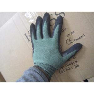 Caja de 10 pares de guantes MICROLIN COOPER Tek Green anticorte. Talla 7