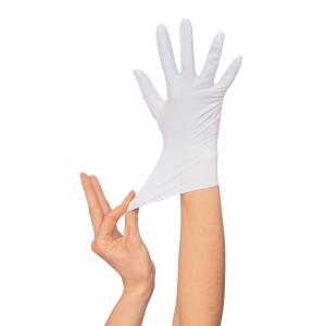 Caja de 100 guantes desechables Rubberex NIT100.B.PF - nitrilo - talla 9