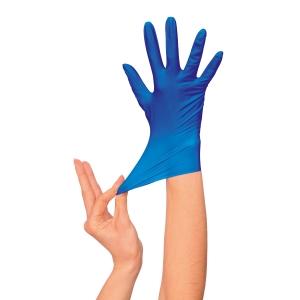 Caja de 100 guantes desechables RUBBEREX Nitrilo Professional 504. Talla 7/S