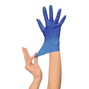 Caja de 100 guantes desechables Rubberex Professional - nitrilo - talla 10