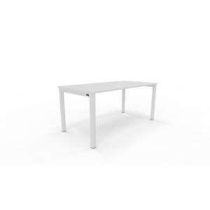Mesa NOVA con medidas 160x80x75 cm colores blanco blanco