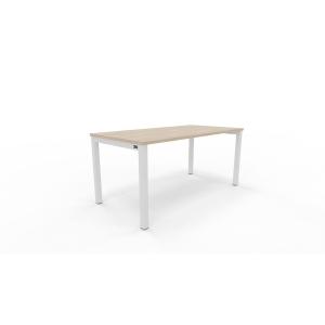 Mesa NOVA con medidas 160x80x75 cm colores roble blanco