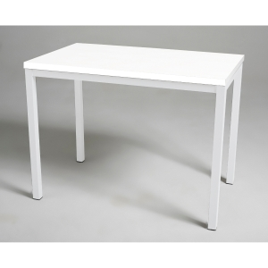 Mesa de break con medidas 110x70mm blanco blanco