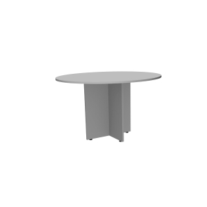 Mesa para reunión ASPA en colores gris gris