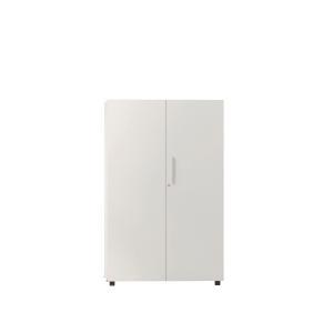 Armario con puertas, medidas 143x45x90 blanco blanco