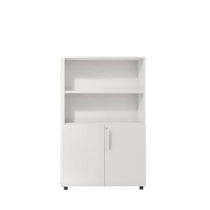 Armario con puertas bajas, medidas de 143x45x90 blanco blanco