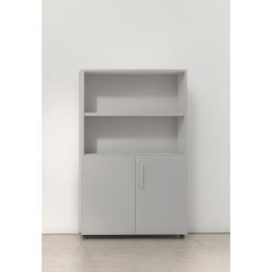 Armario con puertas bajas, medidas de 143x45x90 gris gris