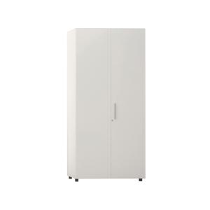 Armario con puerta, medidas 195x45x90 cm blanco blanco