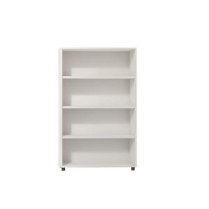 Estanteria de 2 estantes con medidas 143x45x90 cm blanco blanco