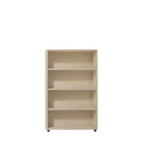 Estanteria de 2 estantes con medidas 143x45x90 cm roble roble