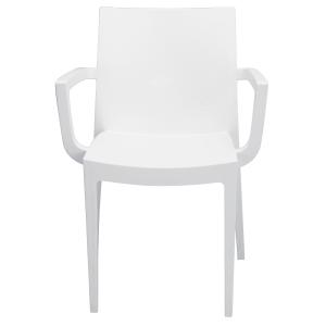 Pack de 2 sillones tipo CUP color blanco