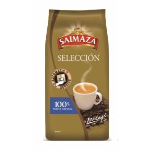 Pack de 1 kg de café en grano de tueste natural y torrefacto.