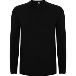 Camiseta de manga larga ROLY Extreme de 150 g/m2 100% algodón. negro. Talla L