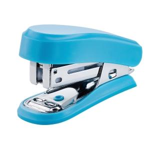 Grapador mini NOVUS azul capacidad 12 hojas
