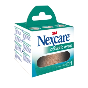 Venda cohesiva NEXCARE Coban transpirable. Dimensiones 50 mm x 2,5 m