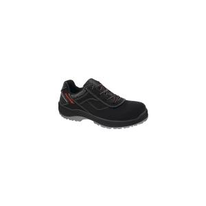 Zapatos seguridad PANTER Diamante Link S3 0% metales. Piel flor negra. Talla 42