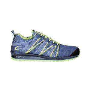Zapatos de seguridad COFRA Fluent S1P transpirable en color azul. Talla 42