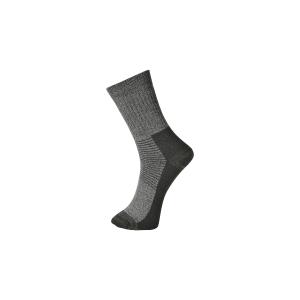 Calcetines térmicos PORTWEST SK11. Color gris. Talla S (39-43)