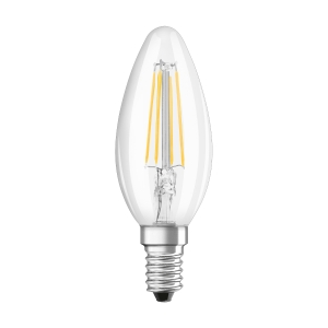 Bombilla OSRAM PARATHOM® LED RETROFIT CLASSIC B no regulable CL B 40 4W/827 E14