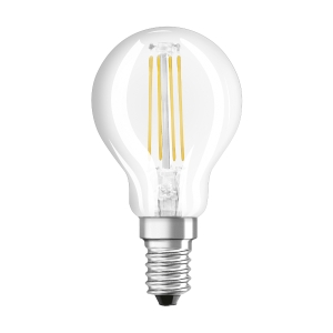 Bombilla OSRAM PARATHOM® LED RETROFIT CLASSIC P no regulable CL P 40 4W/827 E14