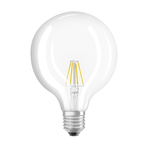 Bombilla OSRAM PARATHOM® LED RETROFIT GLOBE no regulable 60 6W/827 E27