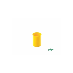 Cubilete De Plástico Opaco Polipropileno Amarillo