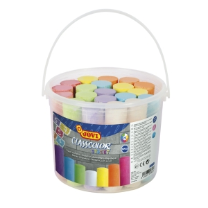 Pack De 20 Tizas JOVI Maxi Classcolor Colores Surtidos