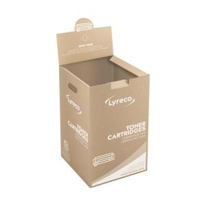 RECOGIDA del contenedor de toner LLENO y ENTREGA de un contenedor de toner VACIO