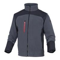 Bluza DELTA PLUS BRIGHTON, szaro-czarna, rozmiar XL