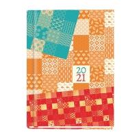 Kalendarz MICHALCZYK & PROKOP Marta B6, tygodniowy, biały w ptaki