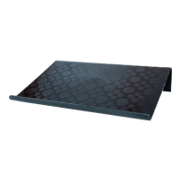 Podstawa pod laptopa IKEA BRADA 601.501.76 Czarna