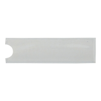 Kieszonka na etykiety DURABLE POCKETFIX® samoprzylepna, 75x20 mm