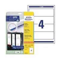Etykiety adresowe AVERY ZWECKFORM 192x61 mm, w opakowaniu 100 etykiet