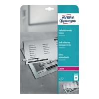 Etykiety Avery 3482, 210 x 297 mm, matowe, opakowanie 25 szt.
