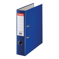 Segregator ESSELTE Eco z mechanizmem 75 mm, niebieski