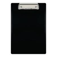 Deska z klipem BIURFOL, czarna A5