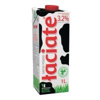 Mleko ŁACIATE UHT 3,2%, w kartonie z zakrętką, 1 l