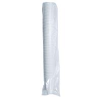 Kubeczki plastikowe 200 ml, białe, opakowanie 100 sztuk