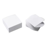 Kostka LYRECO Budget, papierowa, biała, 75x75 mm