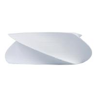 Kostka LYRECO Budget, kręcona, papierowa, biała, 75x75 mm