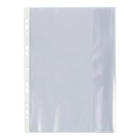 Koszulki BIURFOL z klapką boczną A4, 100 mikronów, groszkowe, 25 sztuk