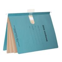 Skoroszyt zawieszkowy SPIRAL Akta osobowe A4 niebieski opakowanie 10 sztuk