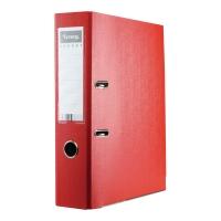 Segregator z mechanizmem LYRECO Budget A4 75 mm czerwony