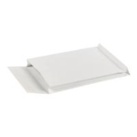 Koperty z rozszerzonymi bokami i dnem, 280x400x40 mm, białe, 25 sztuk