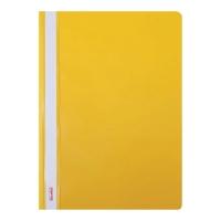 Skoroszyt BIURFOL A4 sztywny, żółty